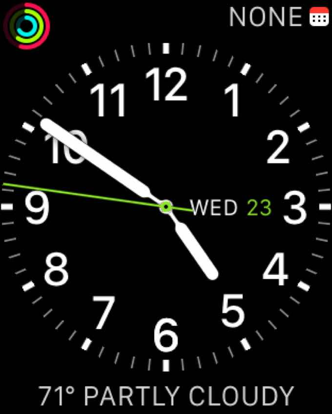 Apple Watch watchface