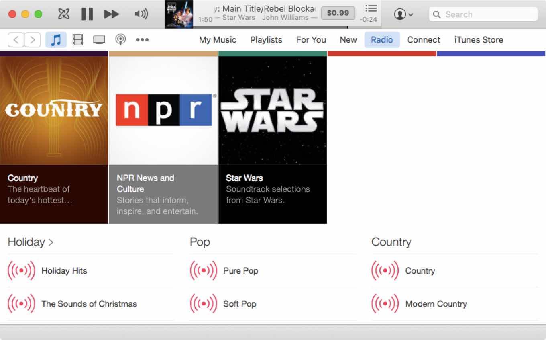 Star Wars radio