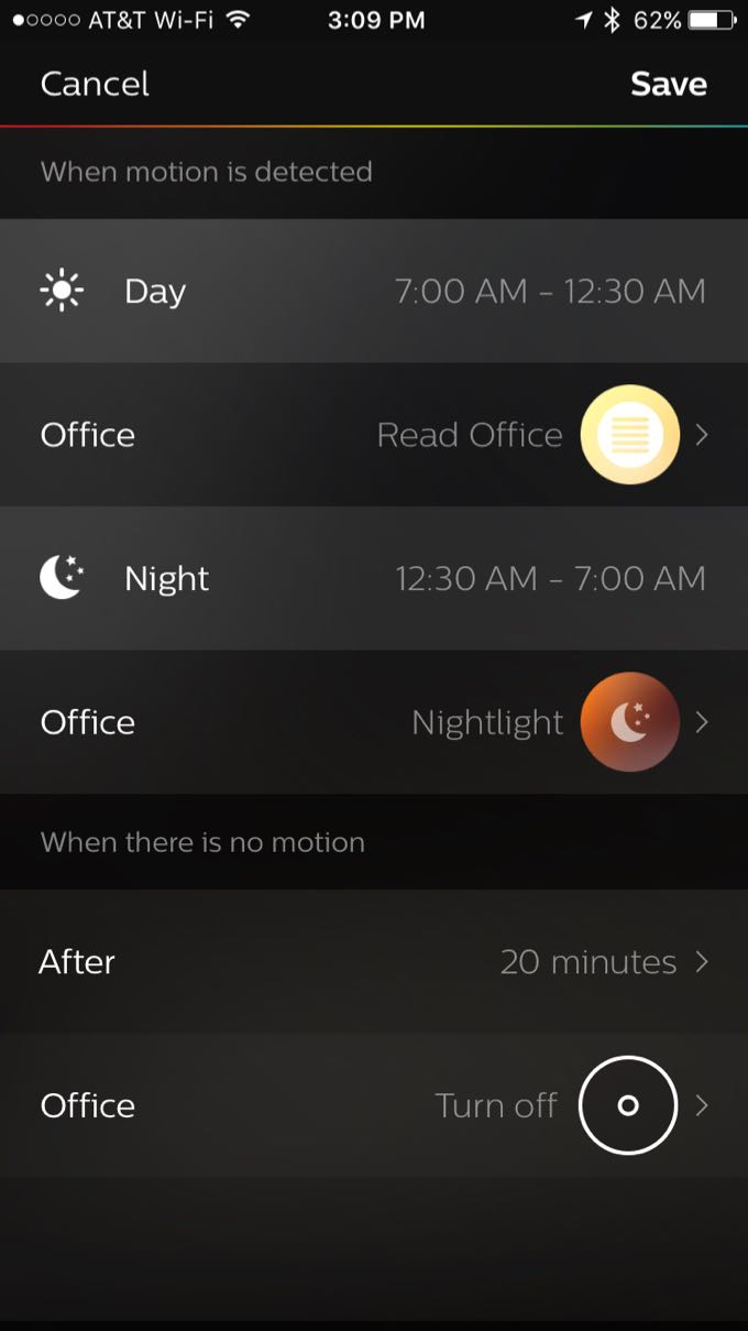 hue-motionsensor-app