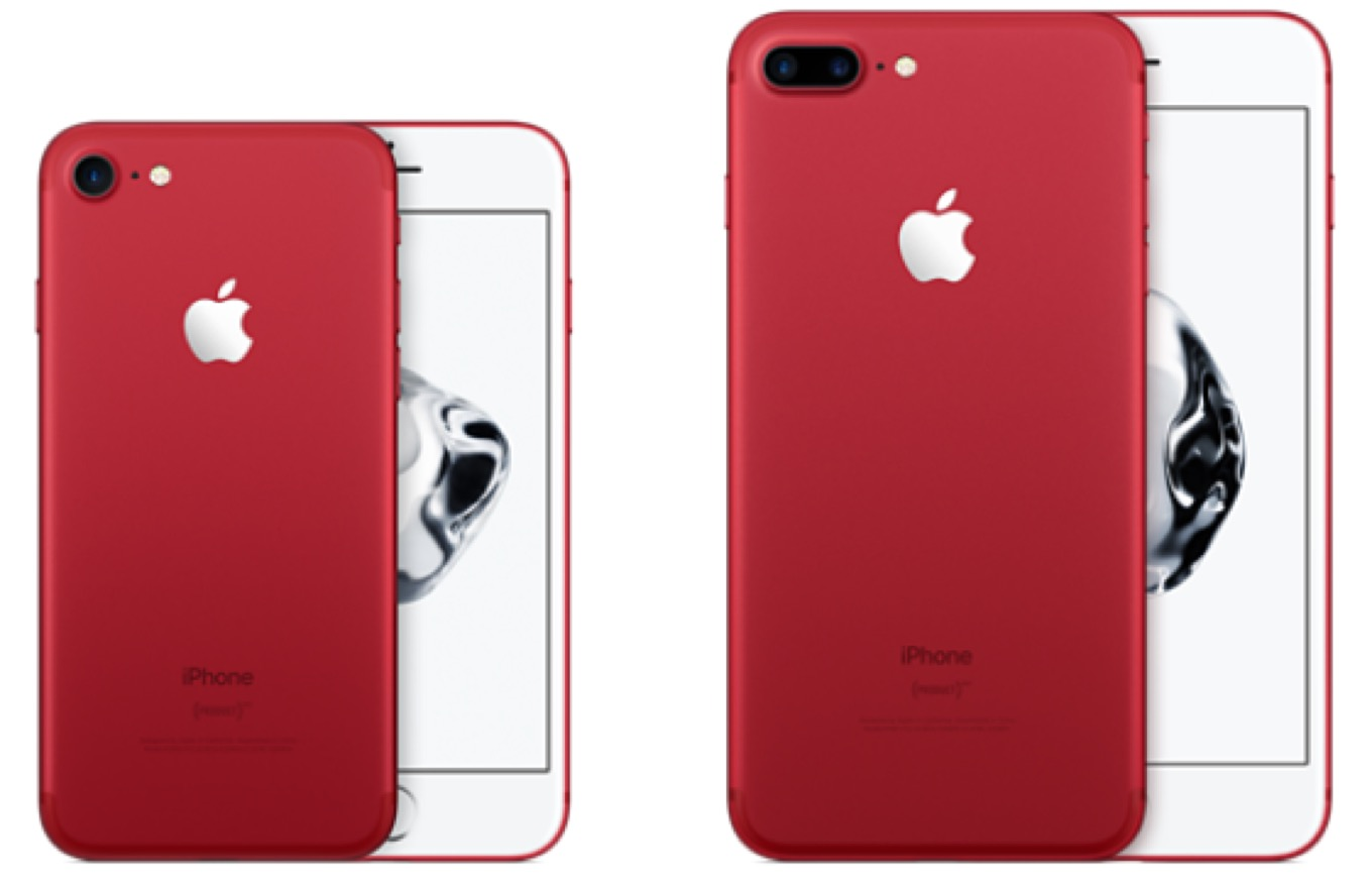 Product(RED) iPhone
