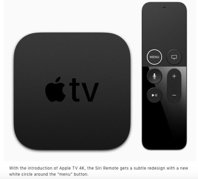 Apple TV Remote redesign