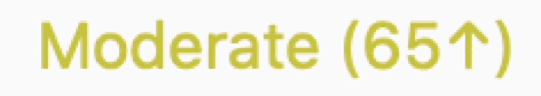 BitBar displaying AQI