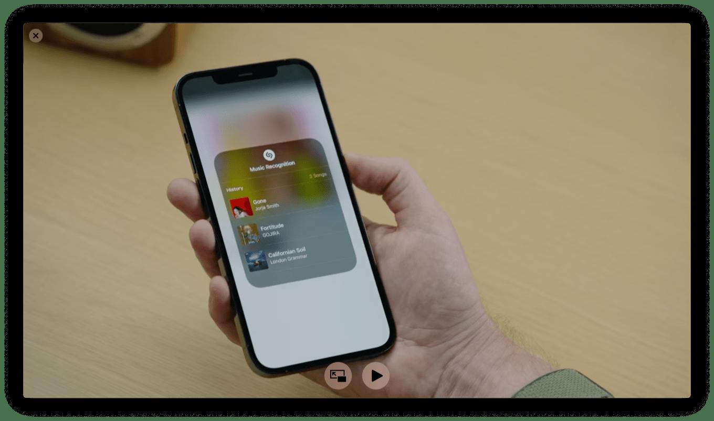 Shazam iOS 15
