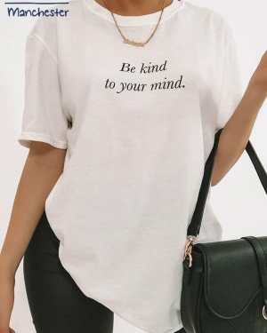 White Be Kind Charity T-Shirt - S / WHITE