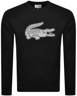 Lacoste Sport Crew Neck Sweatshirt Black