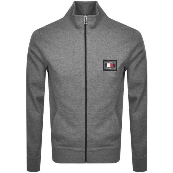 Tommy Hilfiger Icon Full Zip Sweatshirt Grey