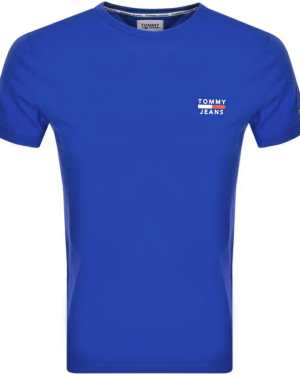 Tommy Jeans Logo T Shirt Blue