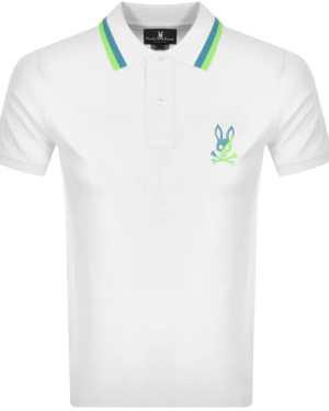 Psycho Bunny Surrey Polo T Shirt White