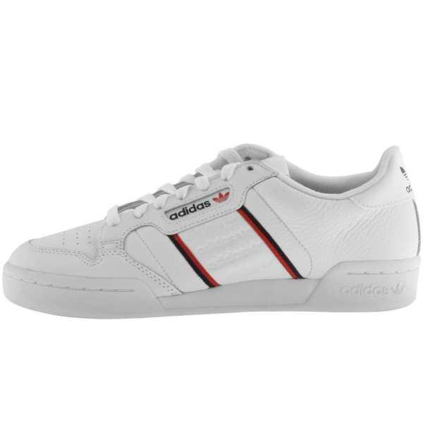 Adidas Originals Continental 80 Trainers White