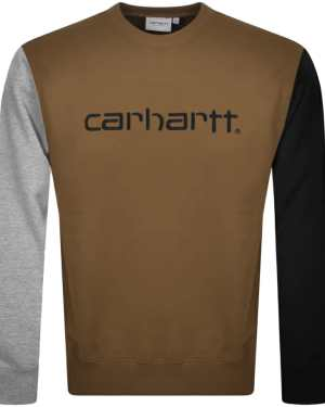 Carhartt Tricol Sweatshirt Brown