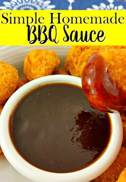 "Tired of bottled BBQ sauce that just doesn't ""WOW"" you anymore? Give this simple homemade BBQ sauce recipe a try! Just 3 steps! Texan approved!"