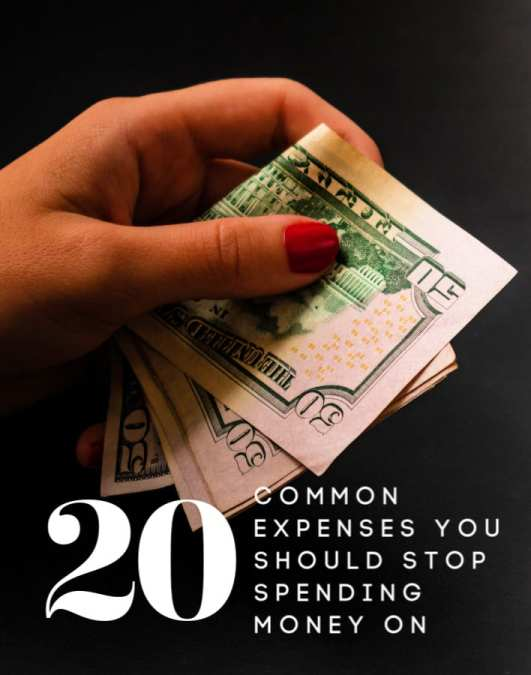 Are you wasting money in your budget? Probably so and you don't even know it! Check out these 20 most common wastes of money and stop throwing your money away on them today!