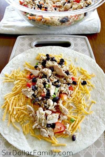 crispy-southwestern-chicken-wrap-recipe-3