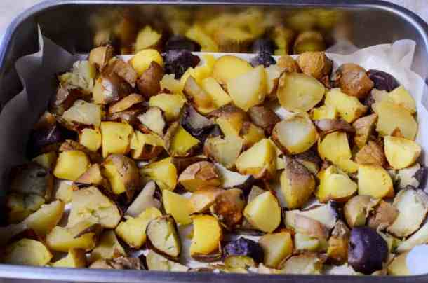 Leftover Potato Breakfast Bake p 1
