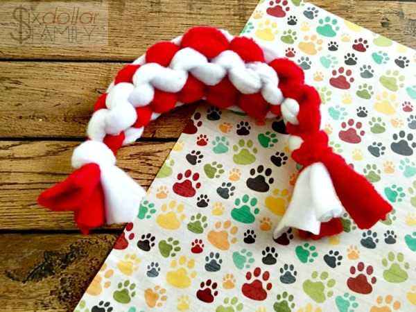 DIY Dog Toys - How to Make an Easy DIY Dog Rope Toy