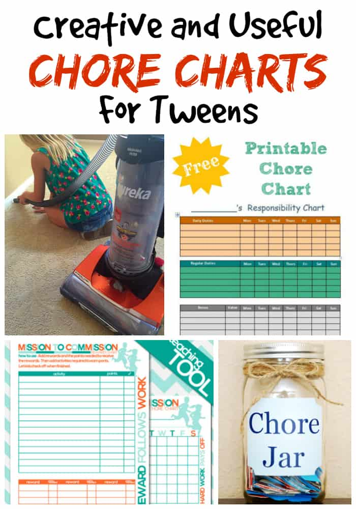 27 Creative And Useful Chore Charts For Tweens