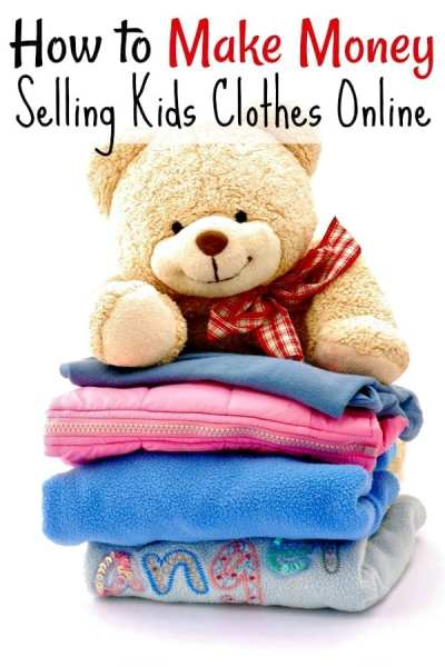 How to Make Money Selling Kids Clothes - If you have a closet full of kids clothes to sell, you're not alone. I did too! Then I started using these 5 SIMPLE steps and learned how to make money selling kids clothes online. It's easier than you think to make a profit!