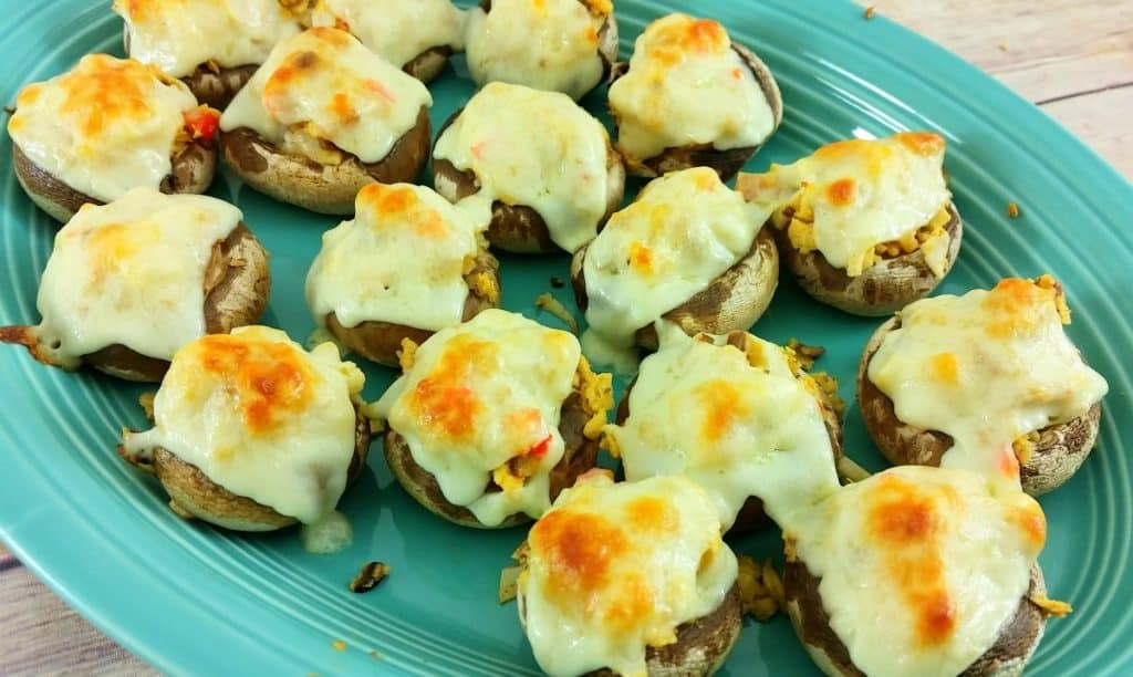Restaurant Copycat Recipes - If you love Red Lobster Recipes, you'll want to try this one! This copycat Red Lobster Stuffed Mushrooms is one of the best copycat Red Lobster Recipes I've ever tried! They're super easy to make and oh so good!