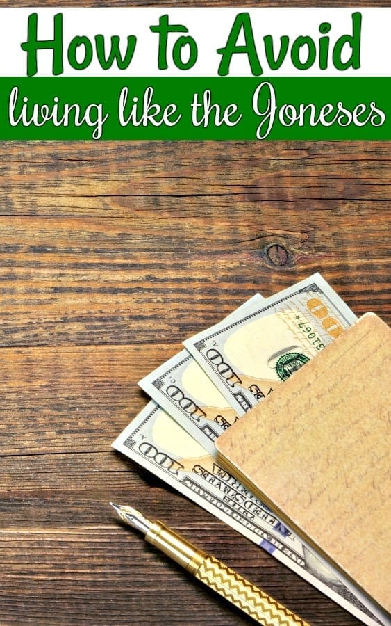 How to Avoid Living like the Joneses - Trying to get your personal budget straight for the new year? Watch out for the Joneses! Use these tips to avoid financial jealousy and those pesky Joneses.