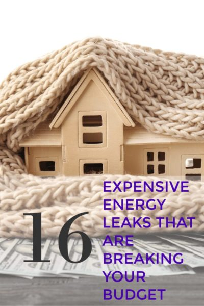Energy Leaks That Will Kill Your Heating Bill - Tired of paying sky high heating bills each winter? Take a look at these 16 energy leaks you need to fix before winter to save money! Each one that is in your home is costing you money!