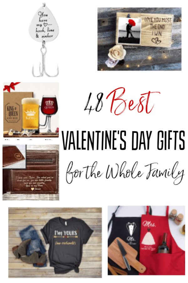 Best Valentine's Day Gift Ideas - Shopping for Valentine's Day? These 48 items are the best Valentine's Day gift ideas around! You're sure to find something for everyone; even the kids!