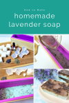 Lavender is known for it's calming properties; especially when used in a soap with a warm bath. This calming lavender soap recipe is perfect for when you just need to relax. It's super simple to make, is very budget friendly and sure to be your new favorite homemade soap recipe!