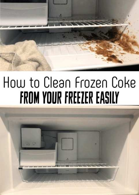 Have you ever had a mess in your freezer? Rotten meat? Exploded Coke? Let me show you how to clean a freezer easily in under 10 minutes!