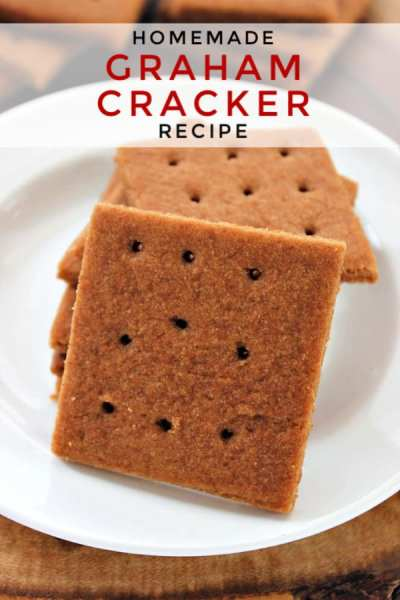 Graham crackers make a great snack and this homemade graham cracker recipe is the best! Learn how to make homemade graham crackers in just minutes! They're perfect for snacks, Smores, holiday baking and even pie crusts! You'll never go back to store bought again!
