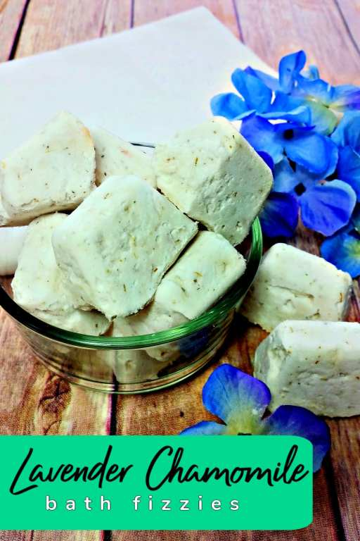 Take your self care to the next level with these DIY bath fizzies with lavender and chamomile. Combined together, the two scents are soothing, calming and great for your skin!