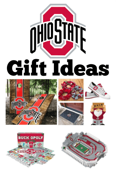 O-H! Shopping for a few amazing Ohio State gift ideas? These 72 Ohio State gifts are perfect for all Buckeyes big and small!