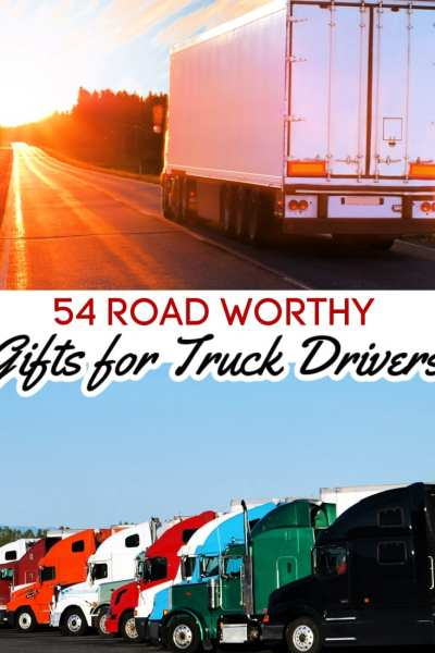 Truck drivers can be so hard to gift! After all, they're solitary creatures who don't like to rely on anyone. That's why this list of gift ideas for truck drivers is so perfect! These gifts for truckers were hand picked with your asphalt cowboy in mind!