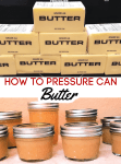Have you ever wanted shelf stable butter? Let me show you how to can butter. This method, when properly done, makes butter stable for up to 18 months!