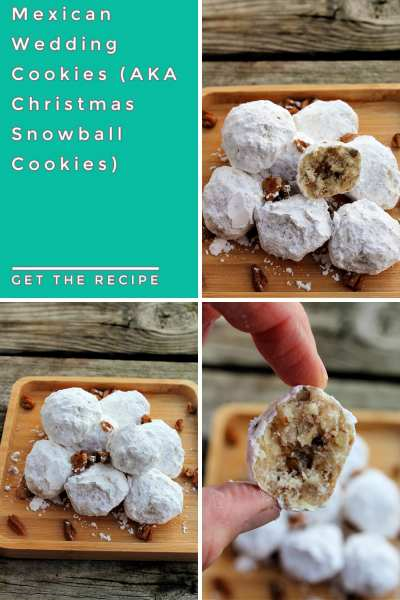 Mexican wedding cookies are a traditional cookie served at traditional Mexican weddings, but they're also a tasty treat to add to any Christmas cookie platter. Also known as Christmas snowball cookies, these easy to make treats are sure to please everyone!
