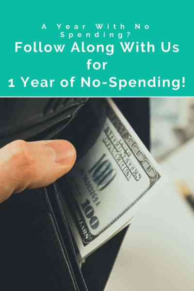 You've heard of no spend months, but now we invite you to join us as we extend a month into a full year! Follow along as we turn 2021 into a no-spend year!