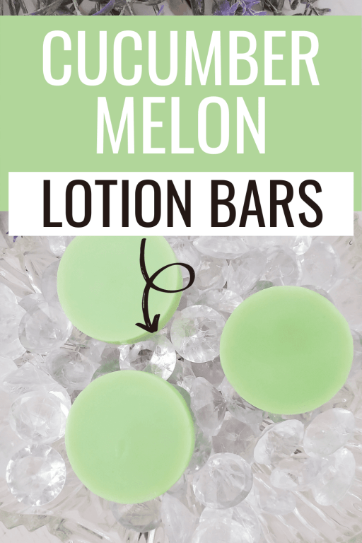 Dry skin can be horrible! It itches, flakes and just generally looks and feels bad. That's where this lotion bar recipe comes to the rescue at! Not only does it have an amazing cucumber melon scent, but it will leave your skin feeling silky smooth and moisturized use after use!