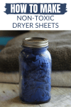 Learning how to make homemade dryer sheets is a safe and effective way to save money on laundry. These reusable dryer sheets use budget friendly ingredients that are safe for the whole family!