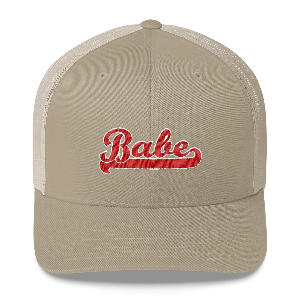 Babe Embroidered Trucker Hat
