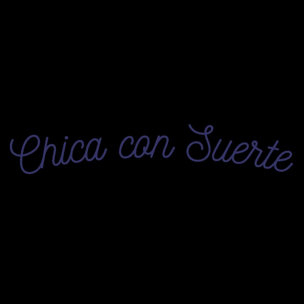 Chica Con Suerte Embroidered crewneck