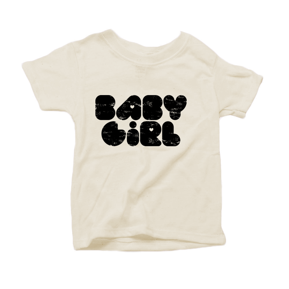 Baby Girl Organic Tshirt
