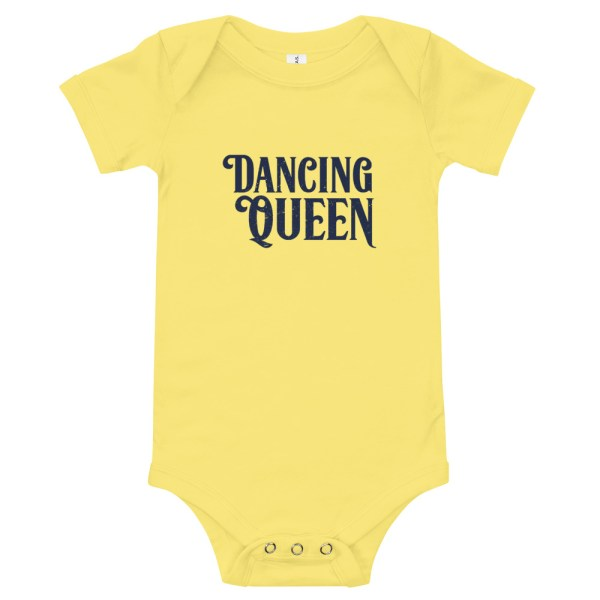 Dancing Queen Baby Bodysuit