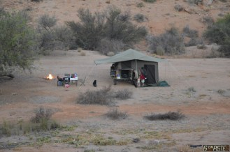 Camp site, South Africa