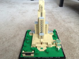 Cathedral of Learning and Stephen Foster Memorial LEGO idea project.