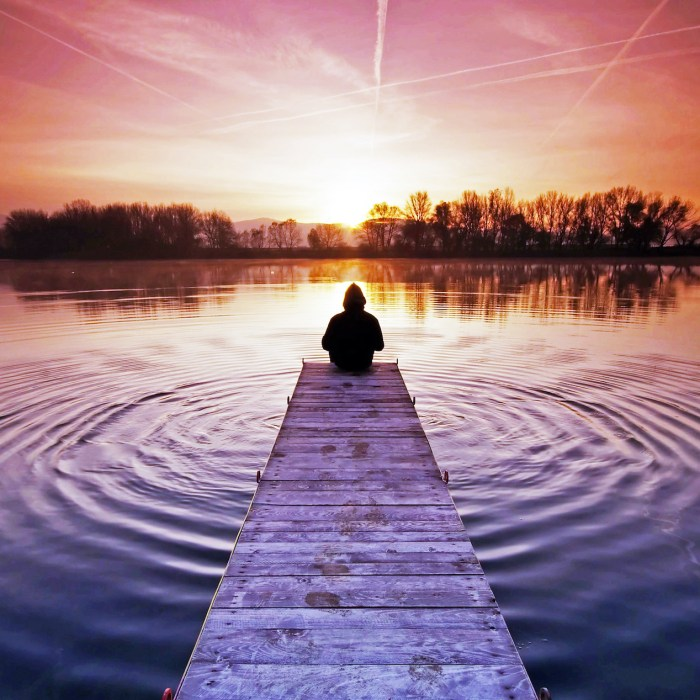 Don't just do something- sit there! New Year's reflections…