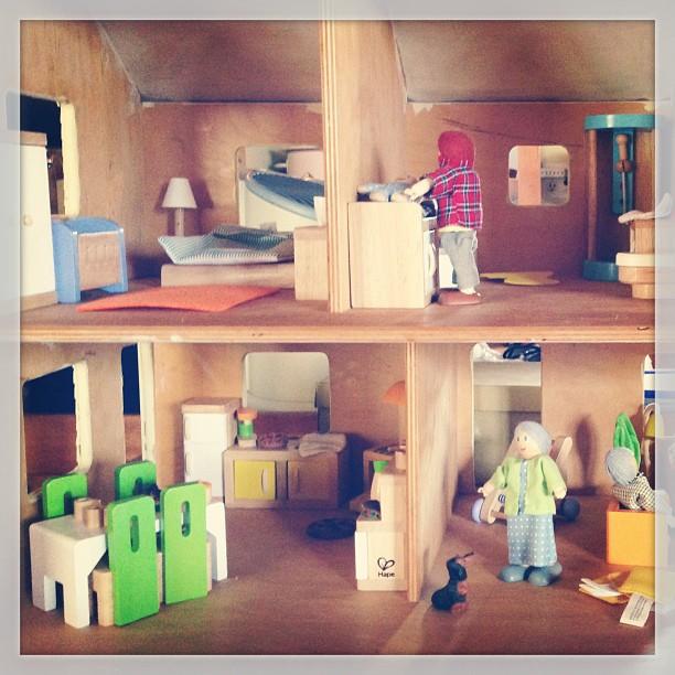 Love this Hape dollhouse furniture