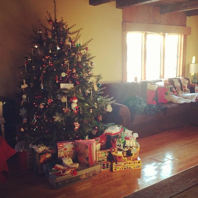 Santa found us