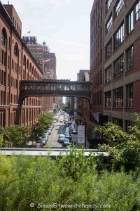 Looking East from a Vantage Point Along the High Line