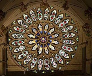 Rose Window at York Minster (borrowed from http://heartstruehome.blogspot.com)