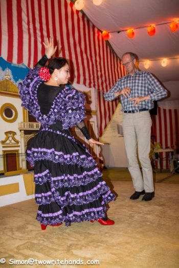 A Flamenco Lesson