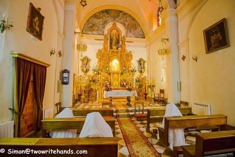 Nuns Worshipping in the Iglesia San Gregorio Betico