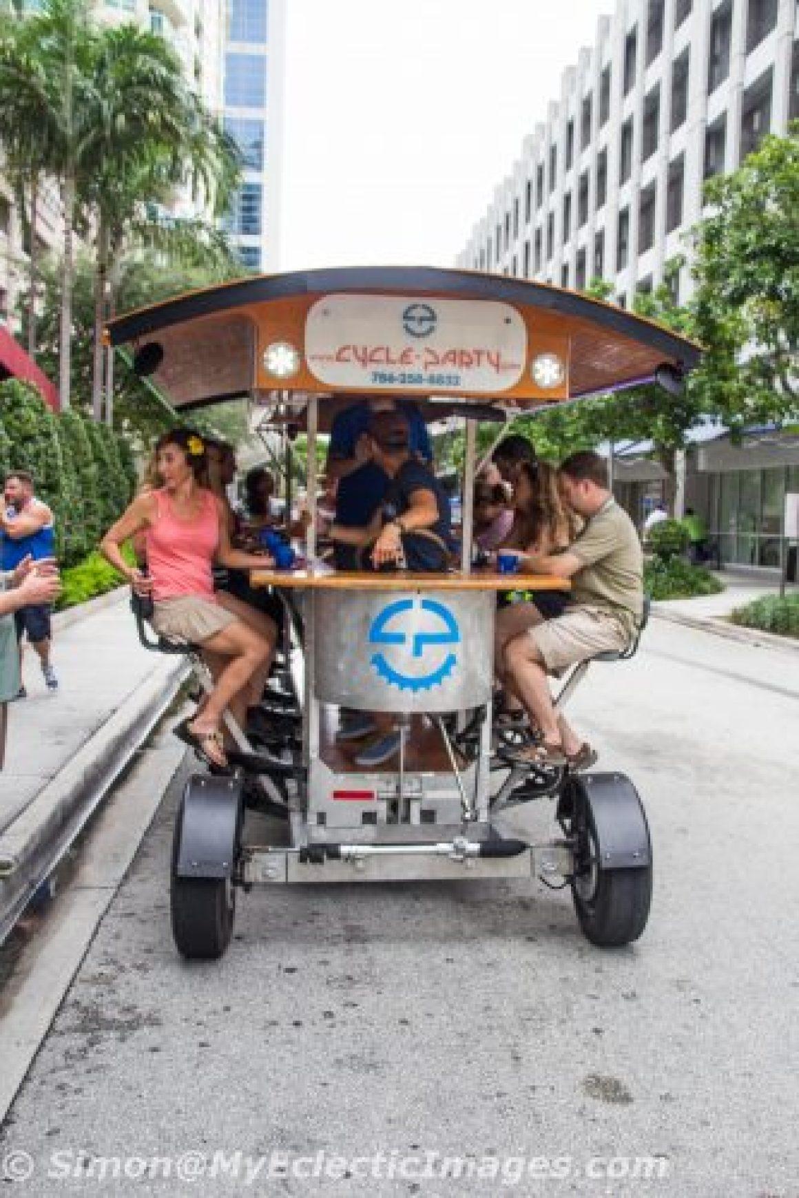 Cruising Along on the Quadracycle